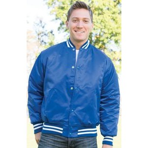 The Big League Pro-Satin Quilt-Lined Custom Award Jacket w/Special Trim