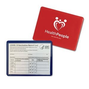 Covid-19 Vaccination Card Holder (Holds 4